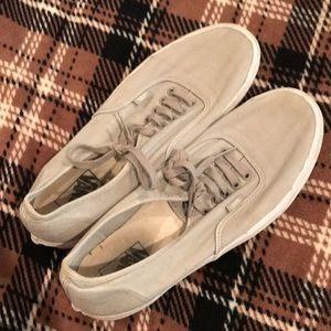 Men's vans sneakers- gray